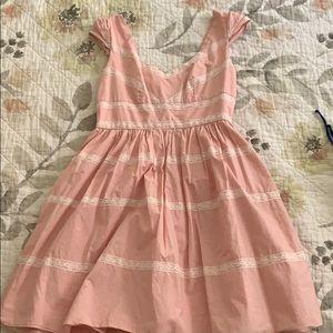 ModCloth Minuet Pink Dress